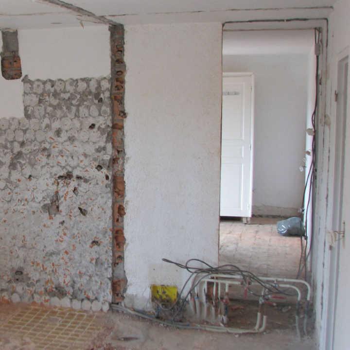 LT CONSTRUCTIONS | Rénovation de Salle de Bain à Roquebrune - Avant